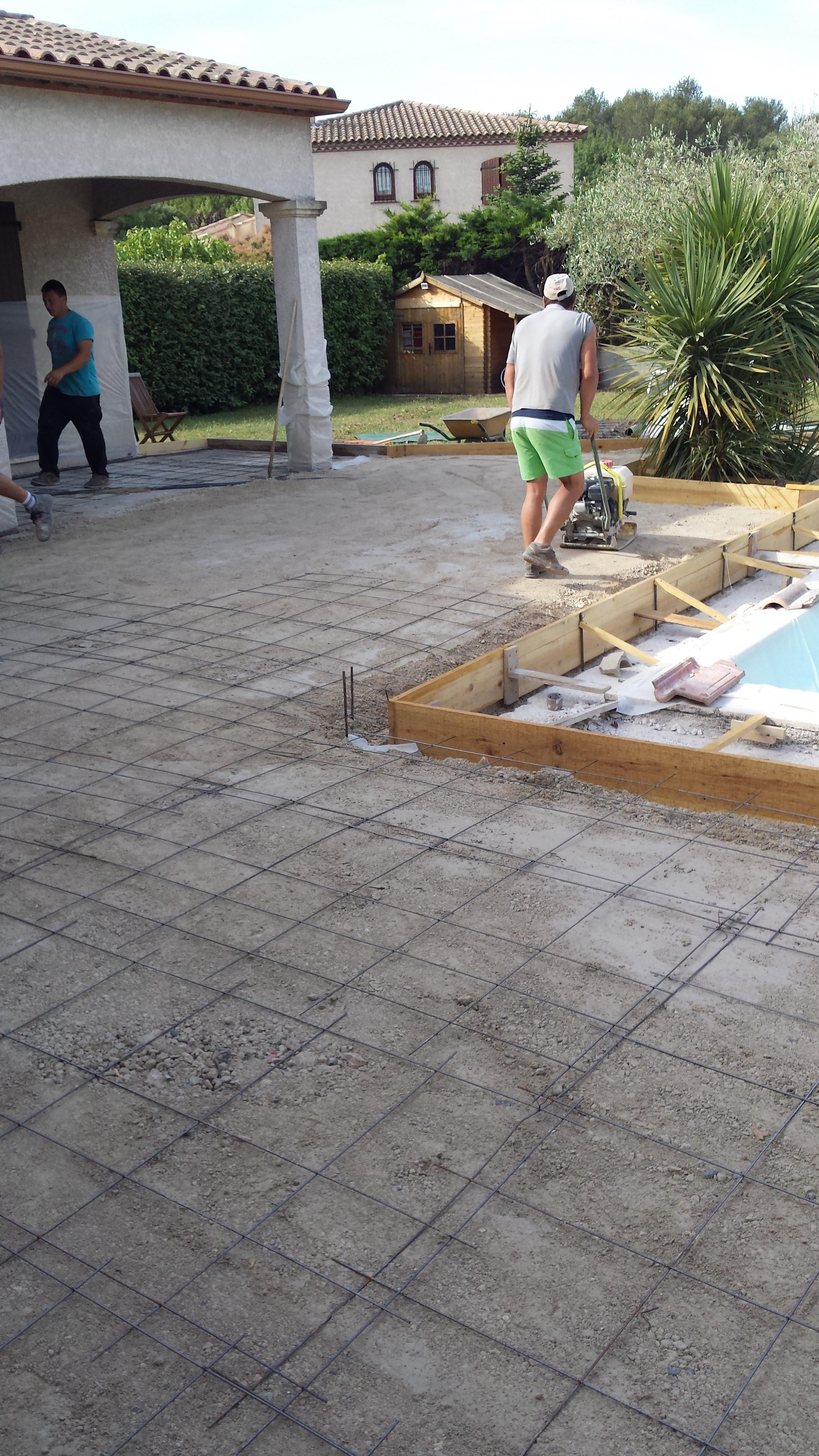 Tout venant dallage 28 images bricolage de l id 233 e 224 la r 233 alisation terrasse design - Allee de jardin en tout venant ...
